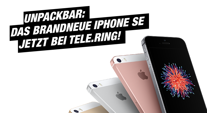 iPhone SE bei Telering